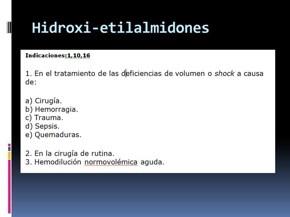 Hidroxi-etilalmidones