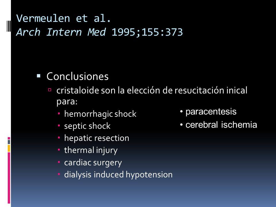 Vermeulen et al. Arch Intern Med 1995;155:373