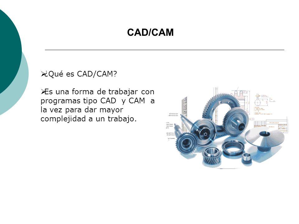 CAD/CAM ¿Qué es CAD/CAM