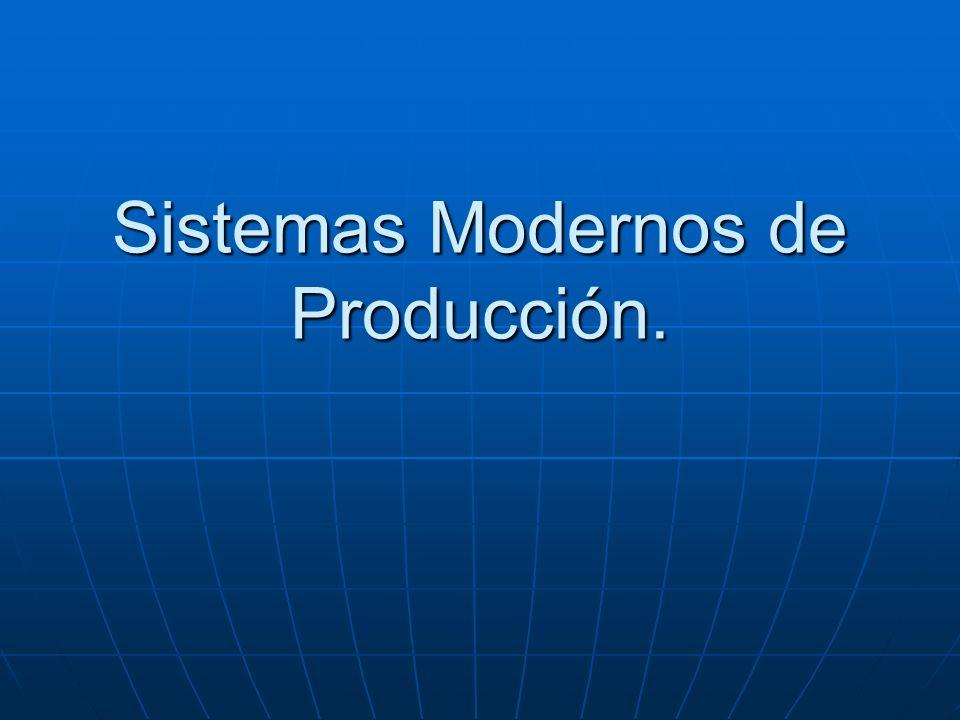 Sistemas Modernos de Producción.