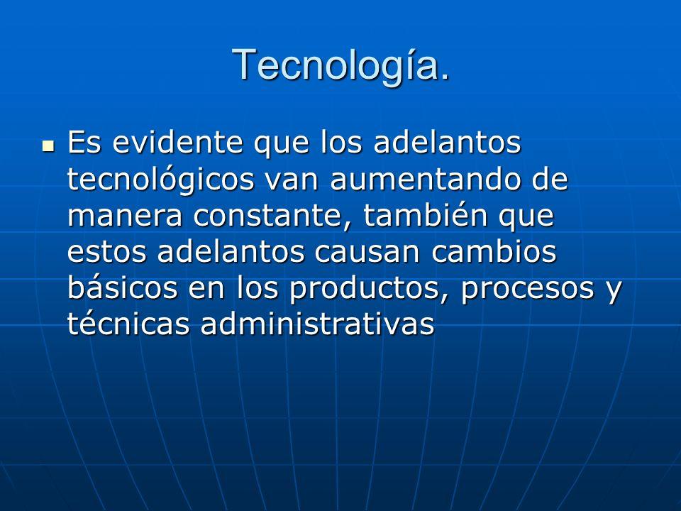 Tecnología.