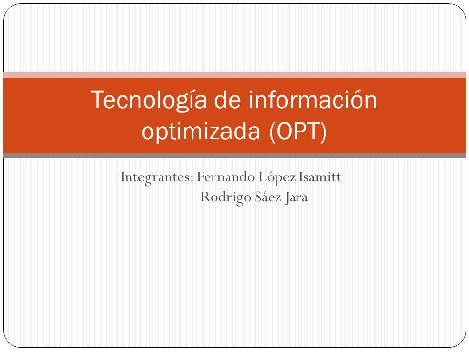 Tecnología de información optimizada (OPT)