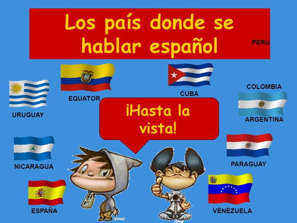 Los país donde se hablar español