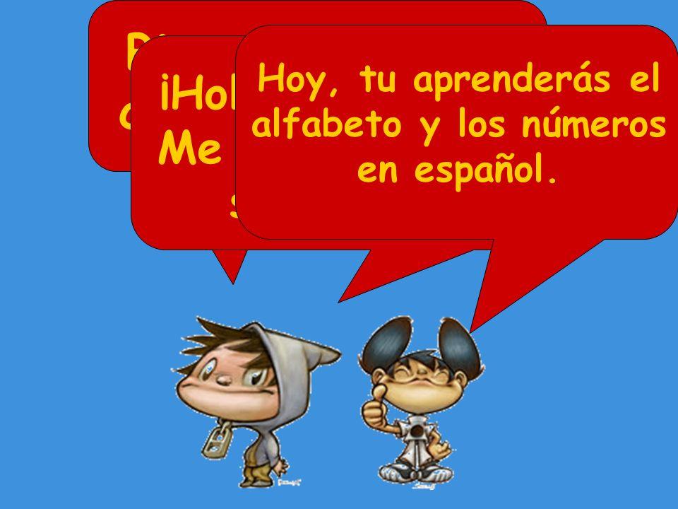 Bienvenido en el curso de español