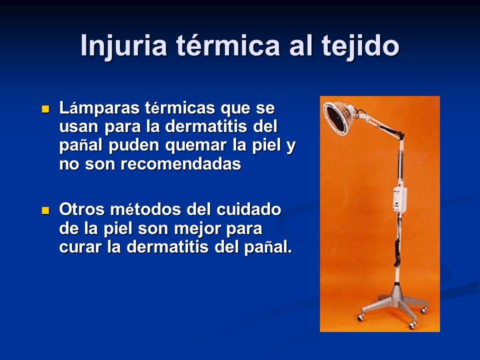 Injuria térmica al tejido