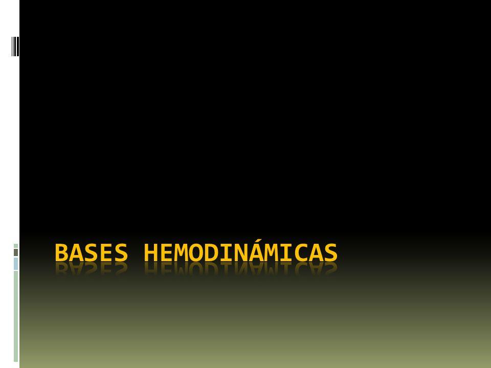 Bases hemodinámicas