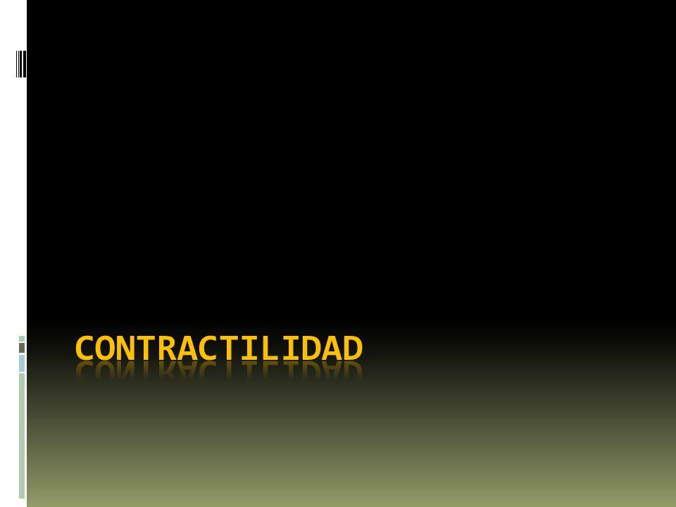 Contractilidad