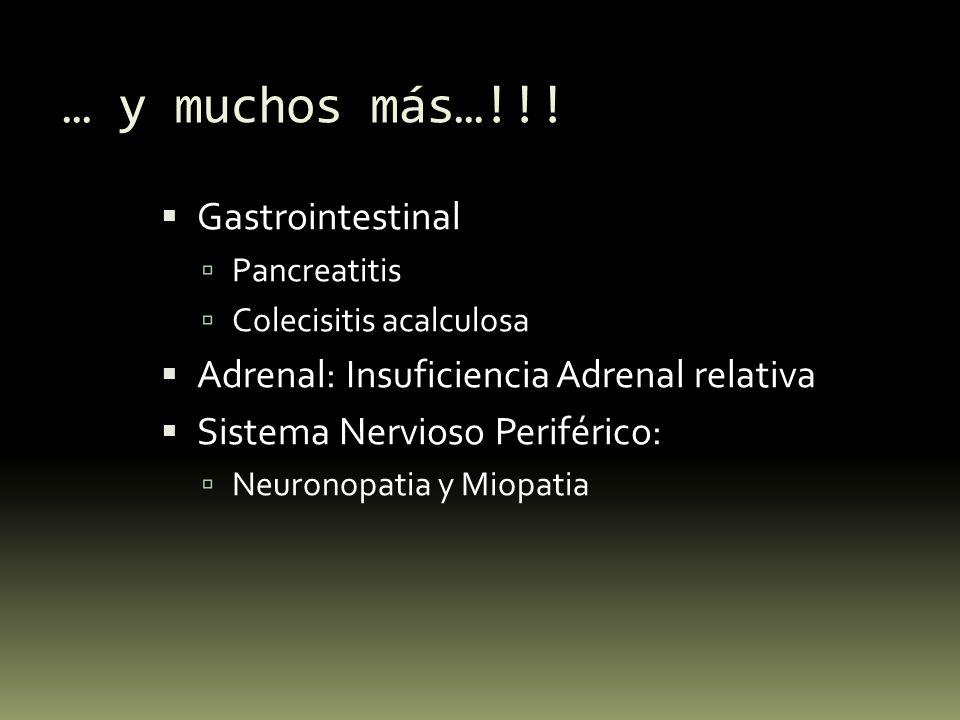 … y muchos más…!!! Gastrointestinal