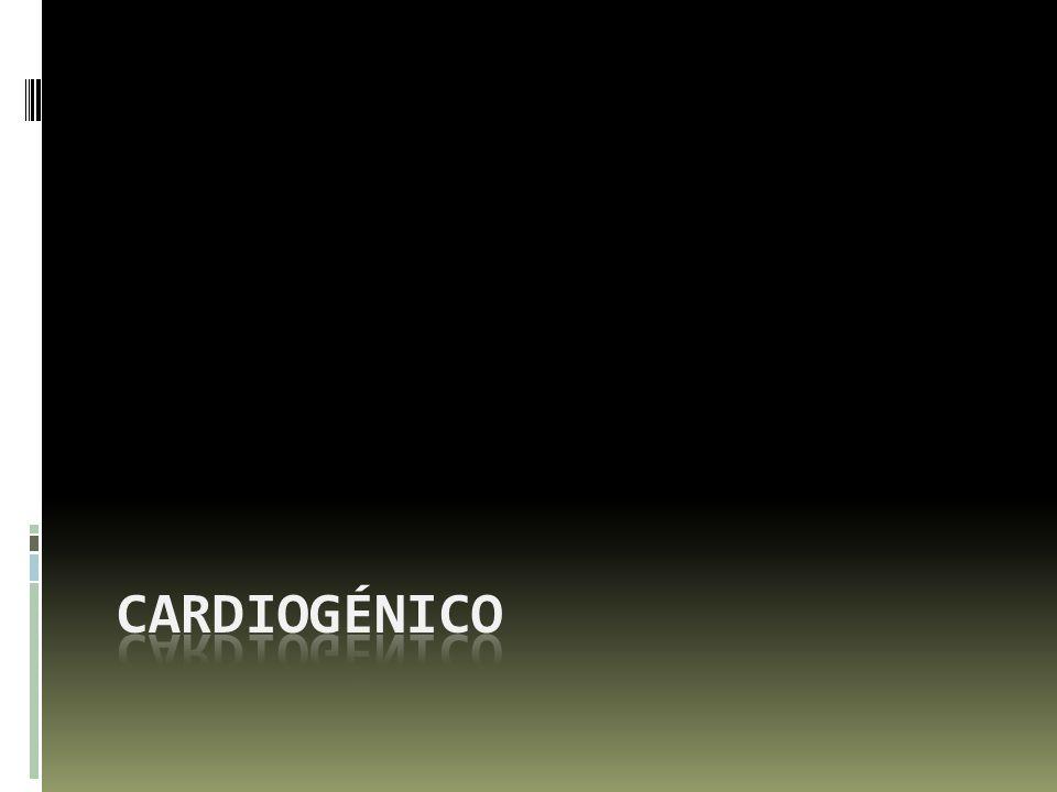 Cardiogénico