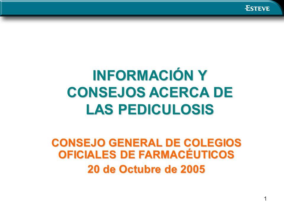 INFORMACIÓN Y CONSEJOS ACERCA DE LAS PEDICULOSIS
