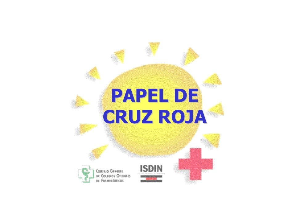 PAPEL DE CRUZ ROJA