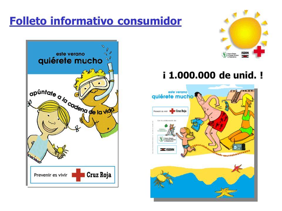 Folleto informativo consumidor