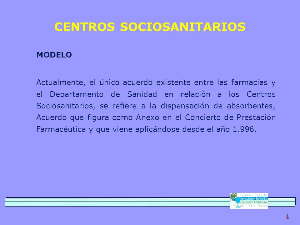 CENTROS SOCIOSANITARIOS