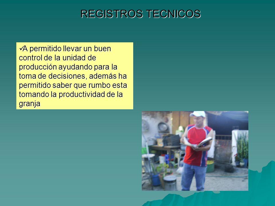REGISTROS TECNICOS