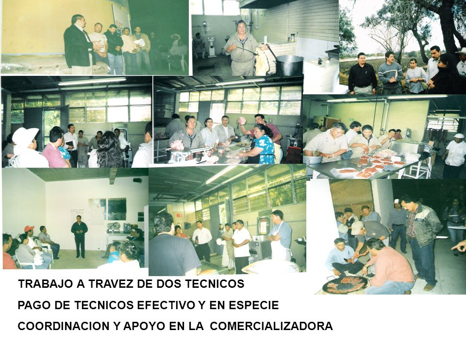 TRABAJO A TRAVEZ DE DOS TECNICOS