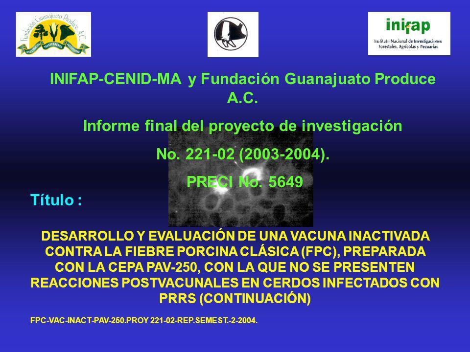 INIFAP-CENID-MA y Fundación Guanajuato Produce A.C.