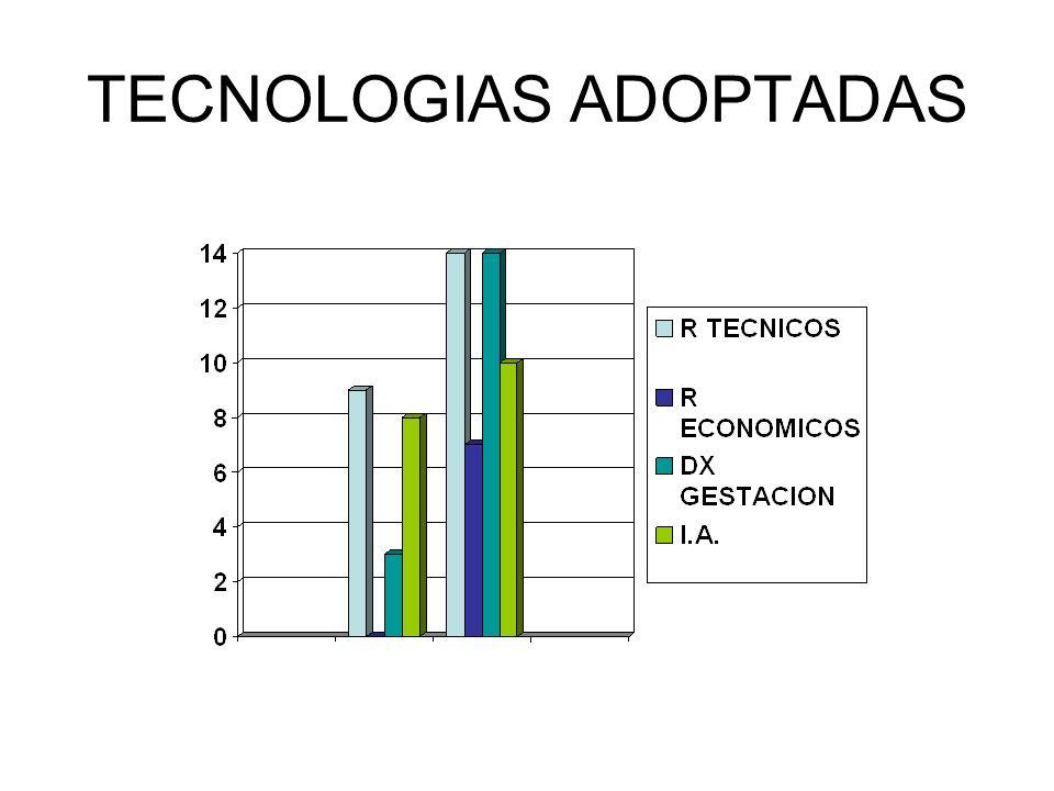 TECNOLOGIAS ADOPTADAS