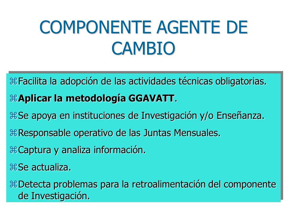 COMPONENTE AGENTE DE CAMBIO