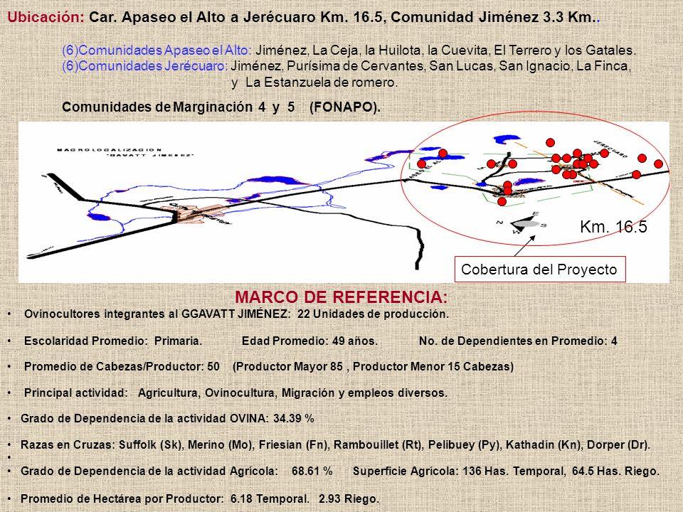 Km. 16.5 MARCO DE REFERENCIA: