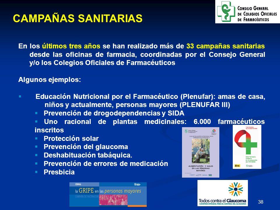 CAMPAÑAS SANITARIAS
