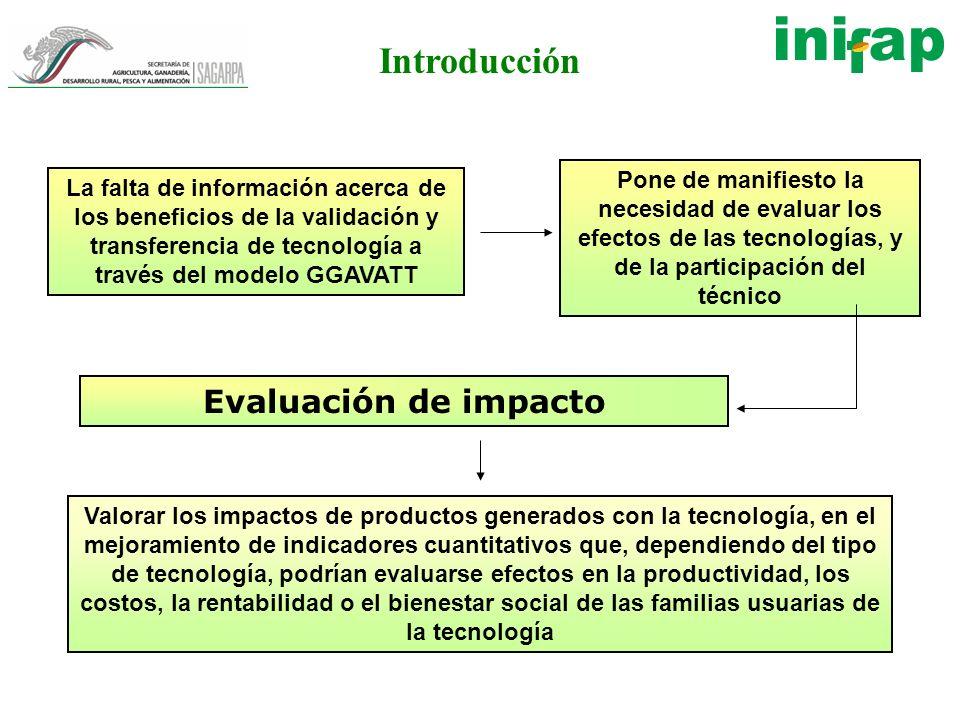 Introducción Evaluación de impacto