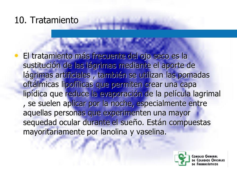 10. Tratamiento
