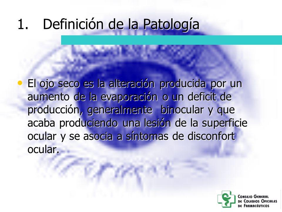 Definición de la Patología