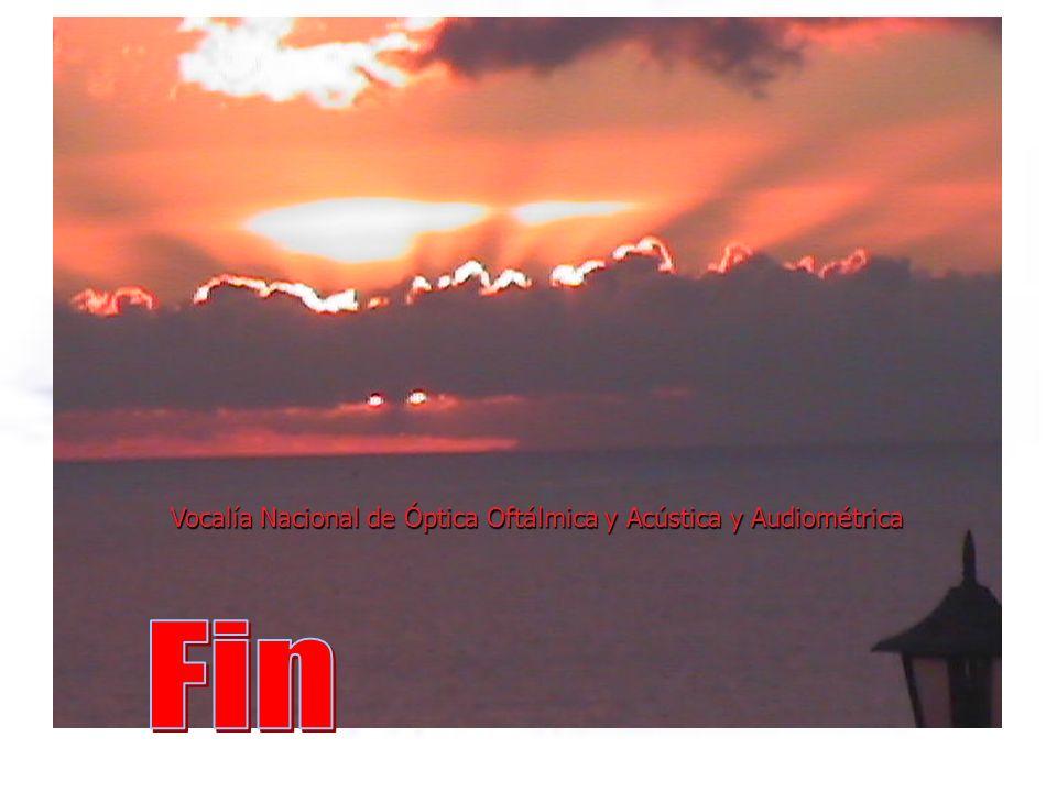 Vocalía Nacional de Óptica Oftálmica y Acústica y Audiométrica