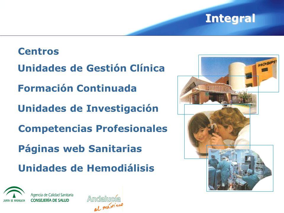 Integral Centros Unidades de Gestión Clínica Formación Continuada