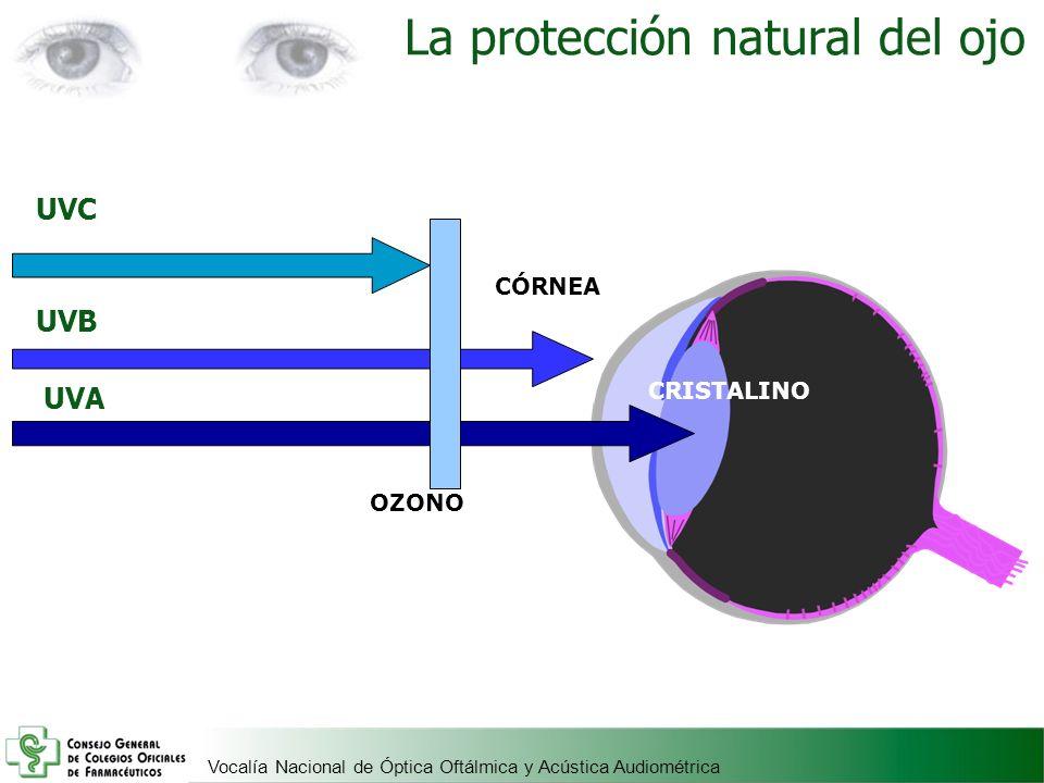 La protección natural del ojo