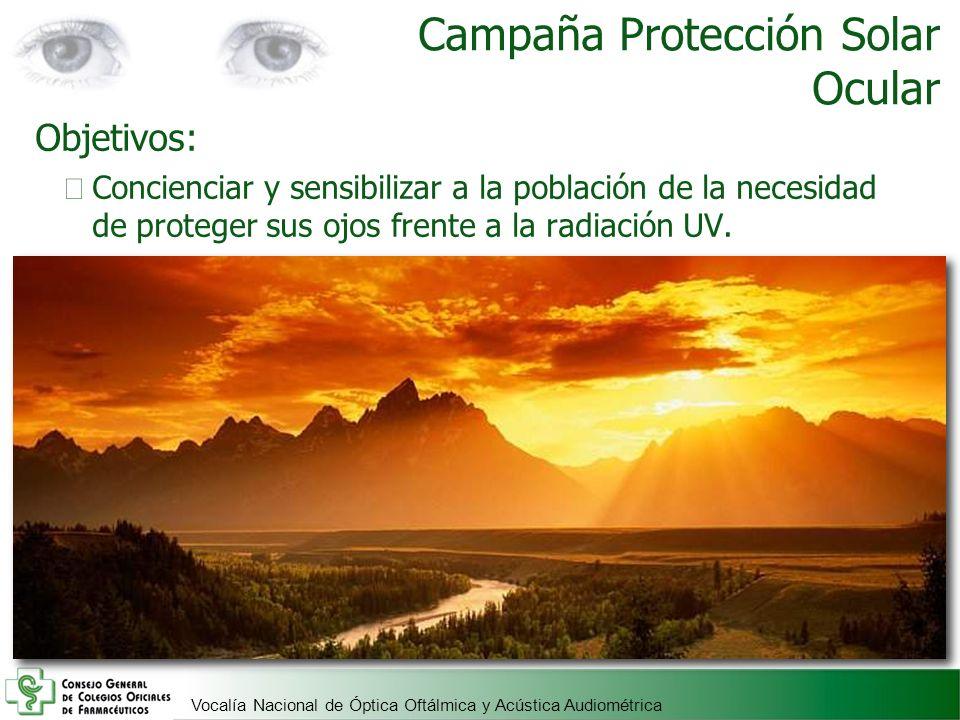Campaña Protección Solar Ocular