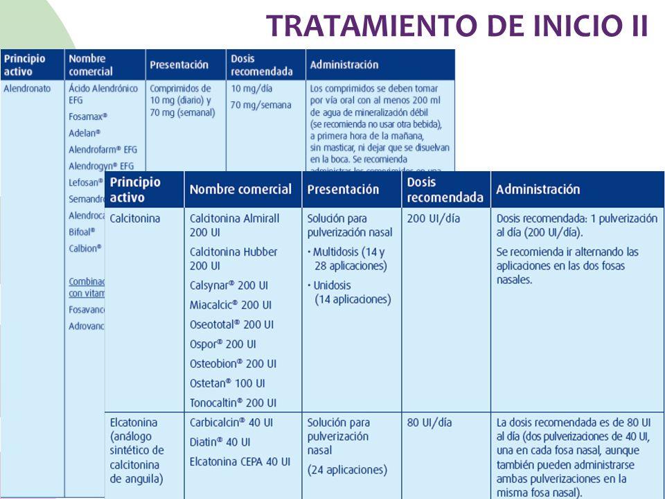 TRATAMIENTO DE INICIO II