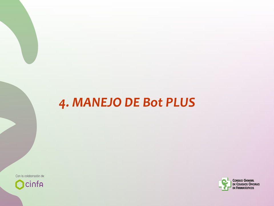 4. MANEJO DE Bot PLUS 61