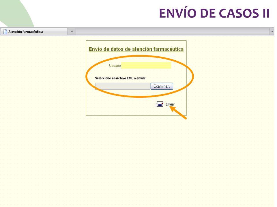 ENVÍO DE CASOS II 78
