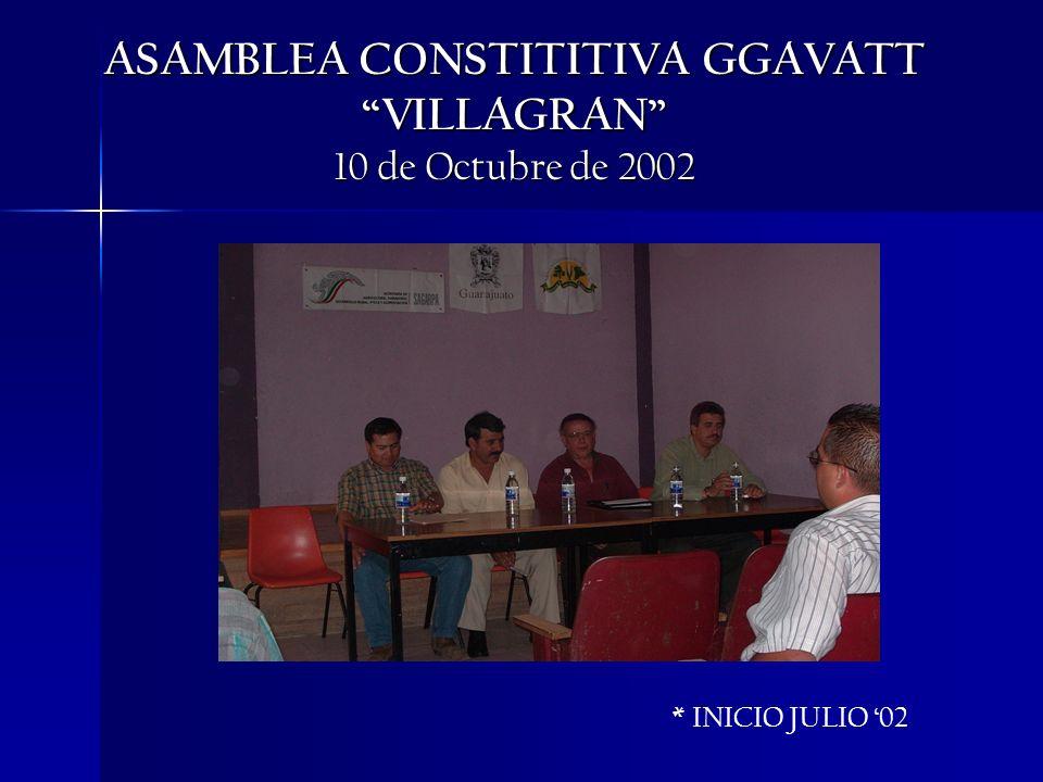 ASAMBLEA CONSTITITIVA GGAVATT VILLAGRAN 10 de Octubre de 2002