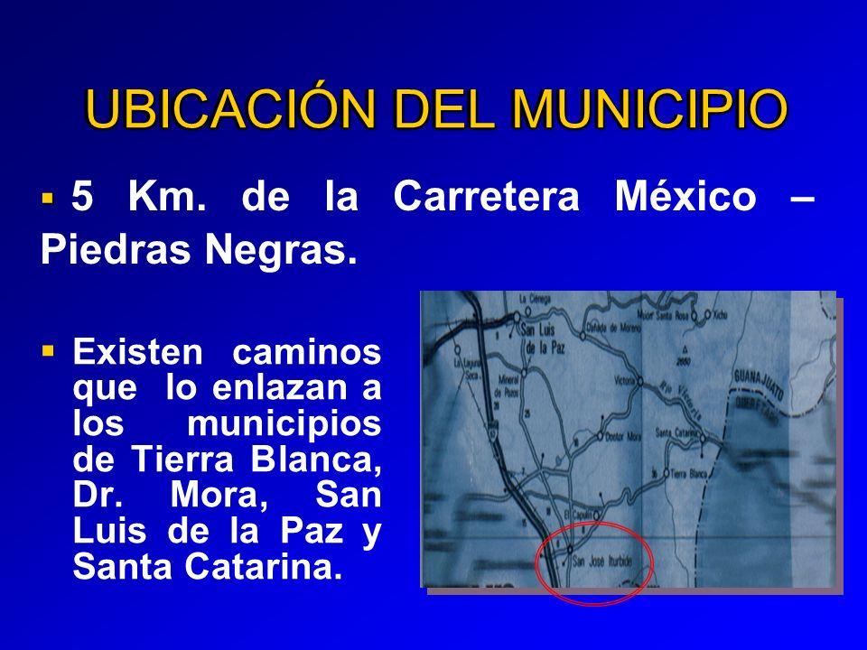 UBICACIÓN DEL MUNICIPIO
