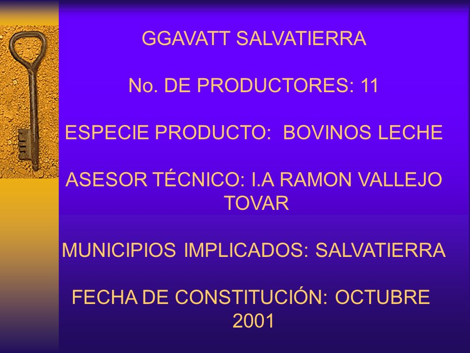 GGAVATT SALVATIERRA No