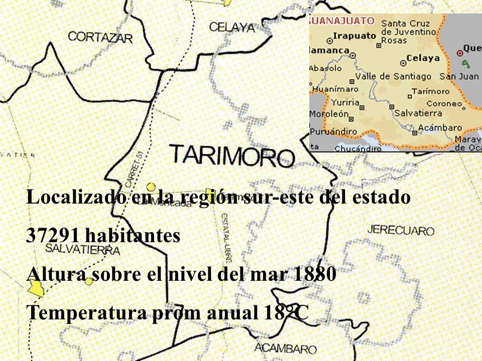 Localizado en la región sur-este del estado