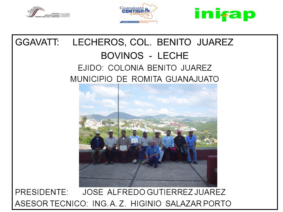 GGAVATT: LECHEROS, COL. BENITO JUAREZ BOVINOS - LECHE