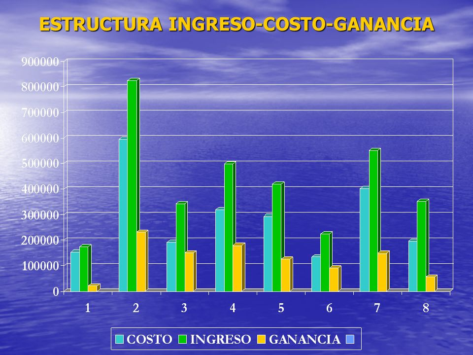 ESTRUCTURA INGRESO-COSTO-GANANCIA