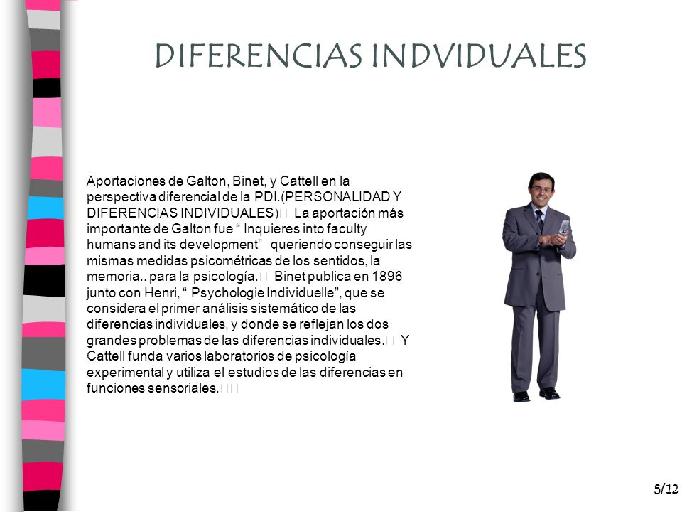 DIFERENCIAS INDVIDUALES