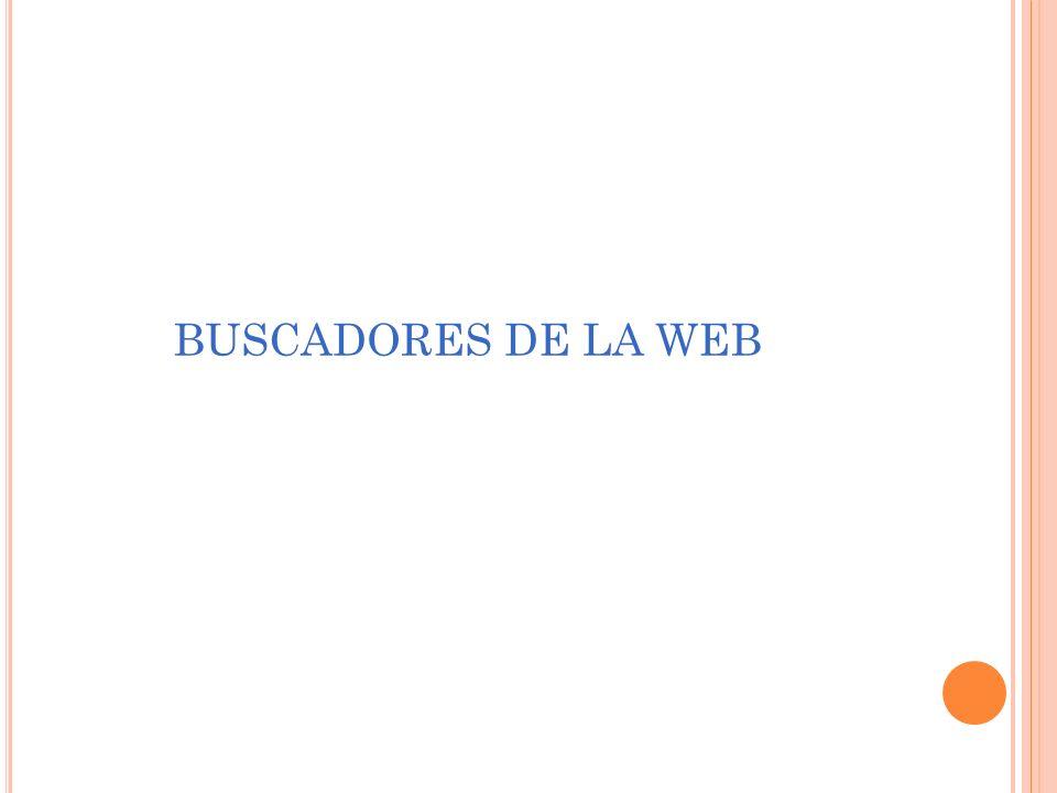 BUSCADORES DE LA WEB