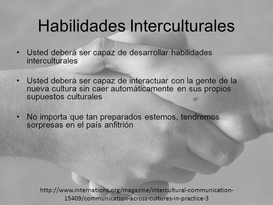 Habilidades Interculturales