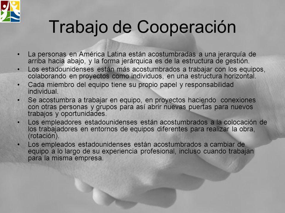 Trabajo de Cooperación