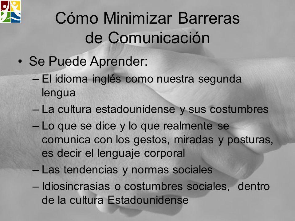 Cómo Minimizar Barreras de Comunicación