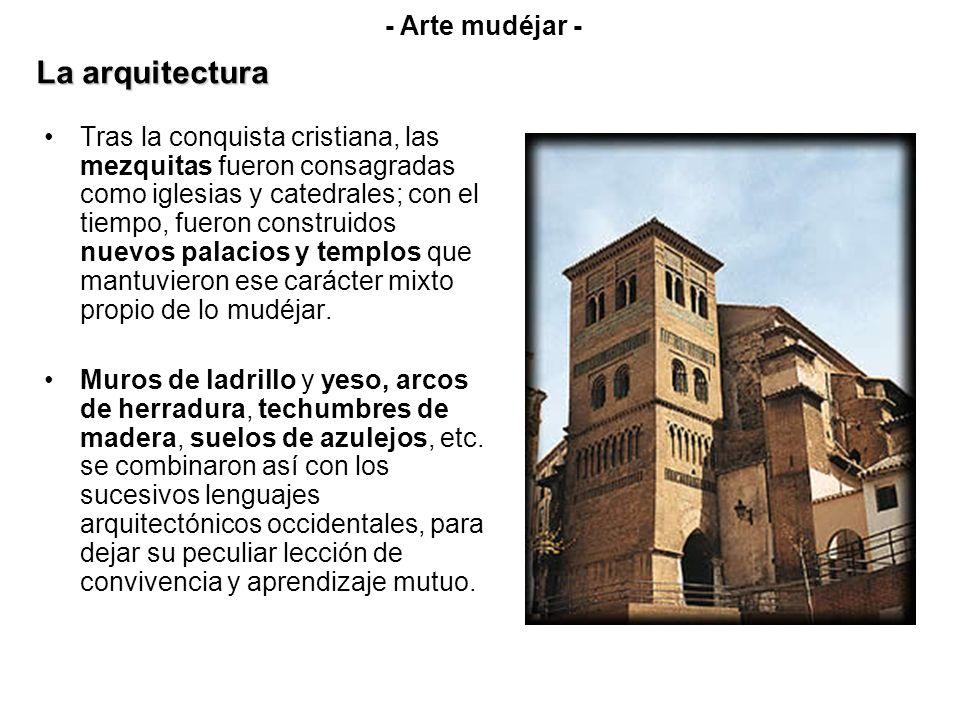La arquitectura - Arte mudéjar -