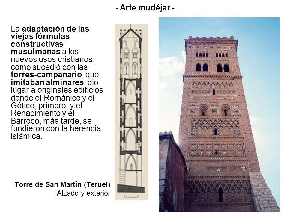 Torre de San Martín (Teruel) Alzado y exterior