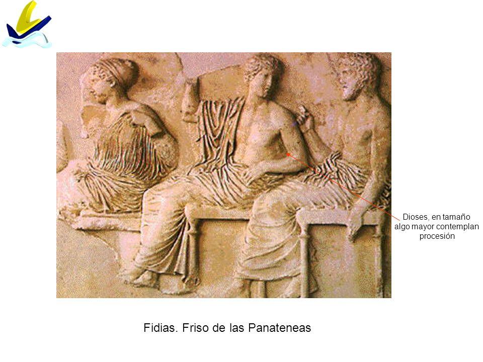 Fidias. Friso de las Panateneas