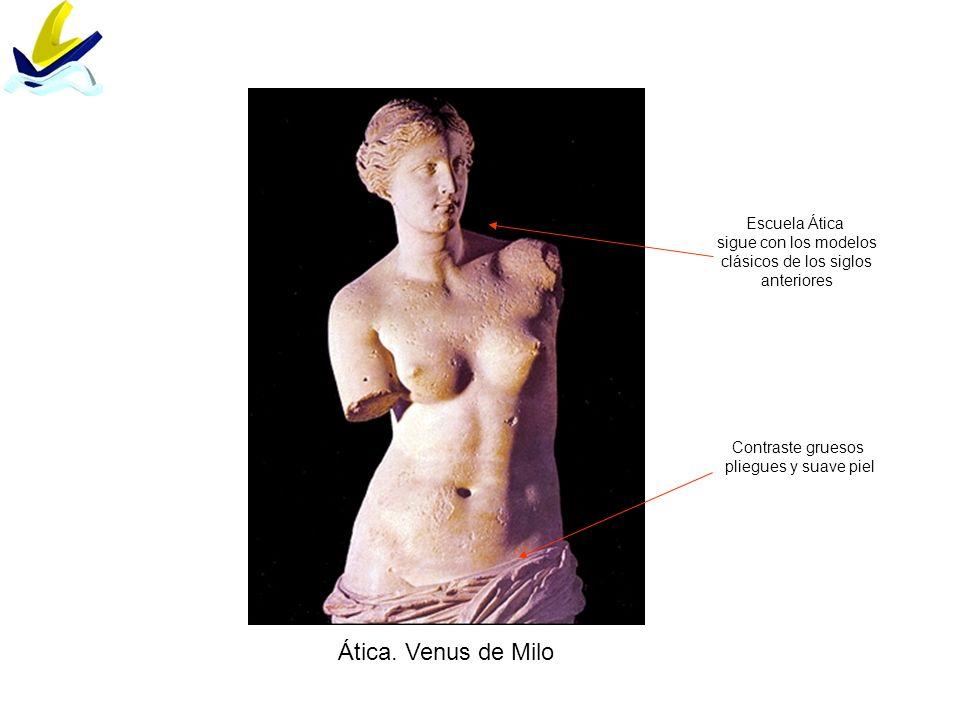 Ática. Venus de Milo Escuela Ática sigue con los modelos