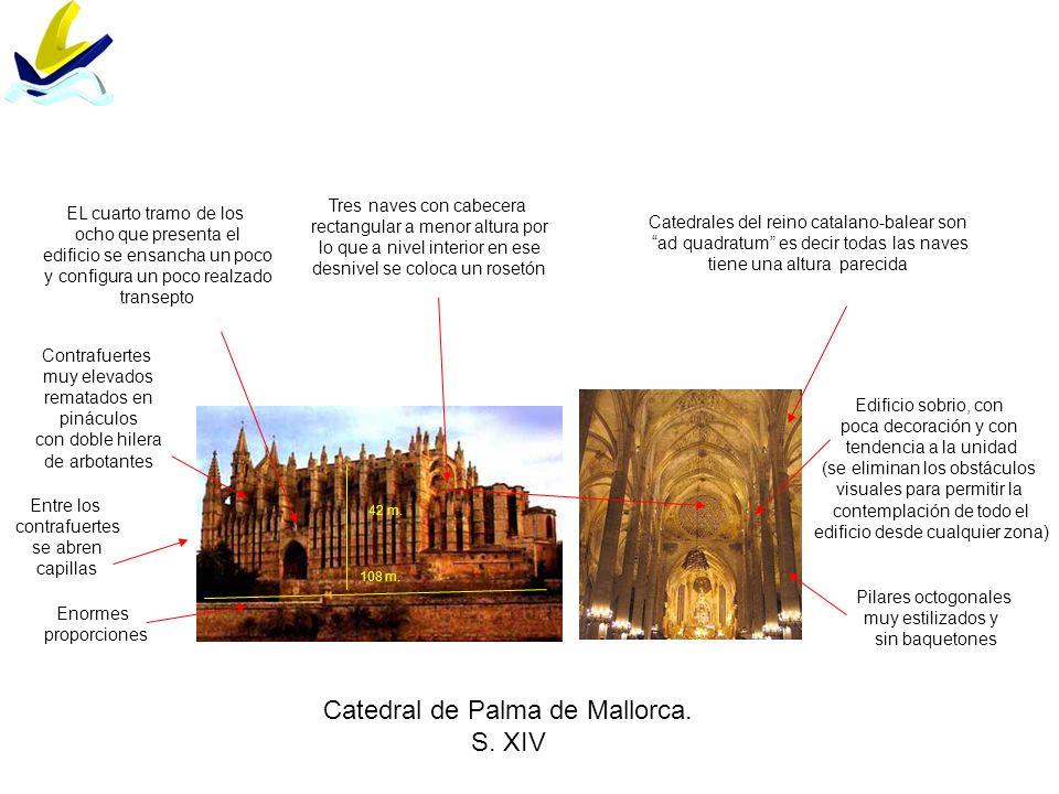 Catedral de Palma de Mallorca. S. XIV